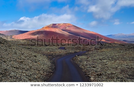 Mountains of fire,Timanfaya National Park in Lanzarote  Stock photo © meinzahn