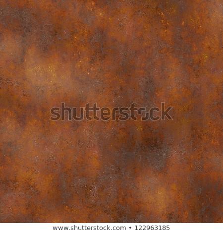 Metal texture arrugginito metal piatto sfondo tempo Foto d'archivio © stevanovicigor