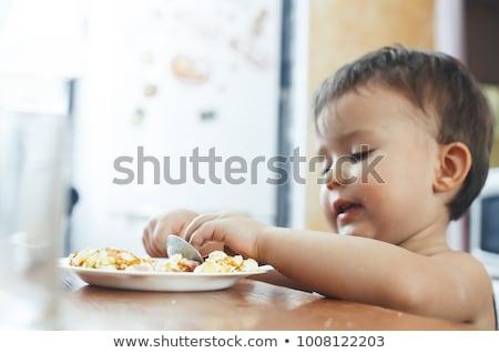 Stockfoto: Baby · easter · egg · vruchtbaarheid · natuur · voorjaar · gelukkig