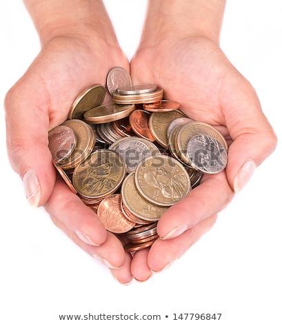 стороны · монетами · фото · деньги · банка - Сток-фото © junpinzon