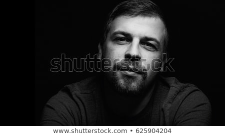 Misterioso homem retrato cara sensual Foto stock © Nejron