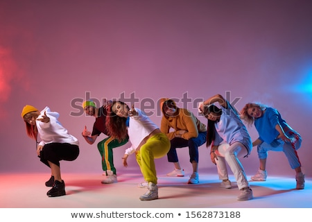 Straat dansers muziek stad Stockfoto © MichalEyal