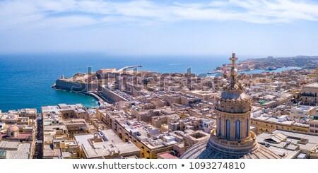 Ver Malta forte europa água edifício Foto stock © Spectral