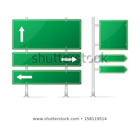 Stock photo: Information Security on Highway Signpost.