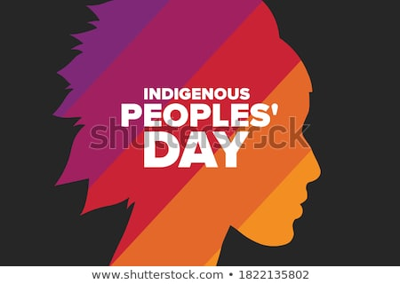 indigenous stock photo © adrenalina
