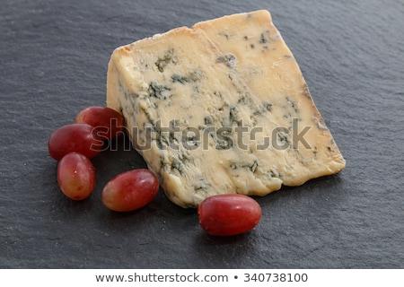 Blue stilton with grapes Stock photo © raphotos