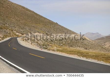 Stock fotó: Körül · díszlet · Peru · dél-amerika · hegy · hegyek