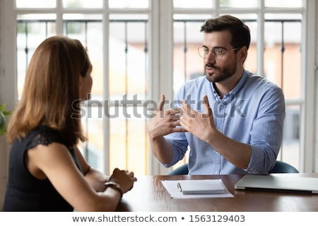 Focus On Asking Where? Stock photo © 3mc