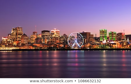 montreal city skyline Stock photo © compuinfoto