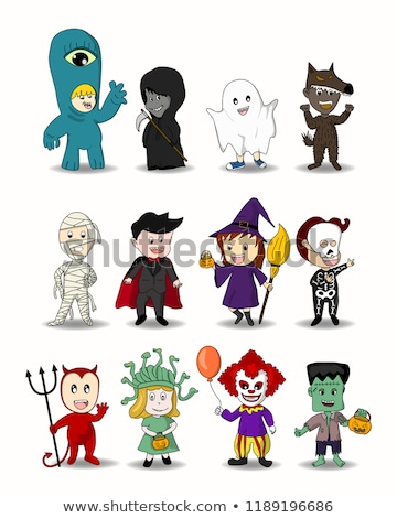 Halloween customes Stock photo © padrinan