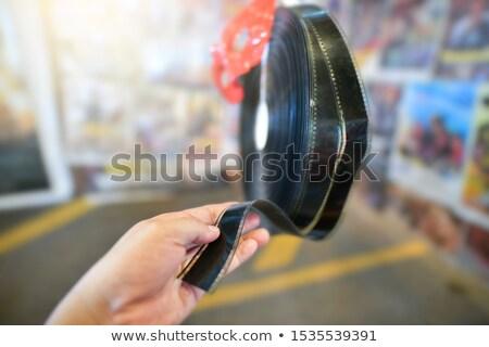 35mm slajdów czytelnik vintage stylu Zdjęcia stock © daboost