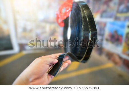 35mm slayt okuyucu bağbozumu stil Stok fotoğraf © daboost