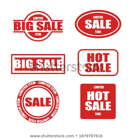 Warranty Guarantee Seal Red Vector Button Icon Design Set Stock photo © rizwanali3d