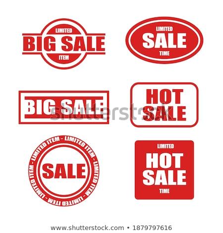 warranty guarantee seal red vector button icon design set stock photo © rizwanali3d
