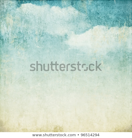 Vintage nubi colorato strisce carta sfondo Foto d'archivio © olgaaltunina