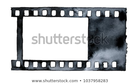 colored hand drawn cinema pattern stock photo © netkov1