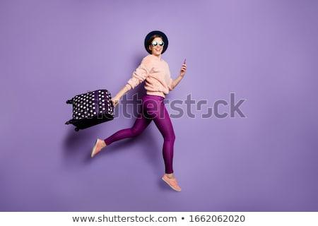 kız · örnek · gülümseme · uygunluk · sağlık · spor · salonu - stok fotoğraf © adrenalina