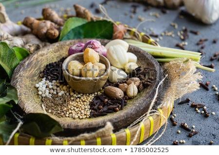 Pile of Organic Mace. Stock photo © ziprashantzi