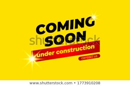 Under Construction golden Vector Icon Design Stock photo © rizwanali3d