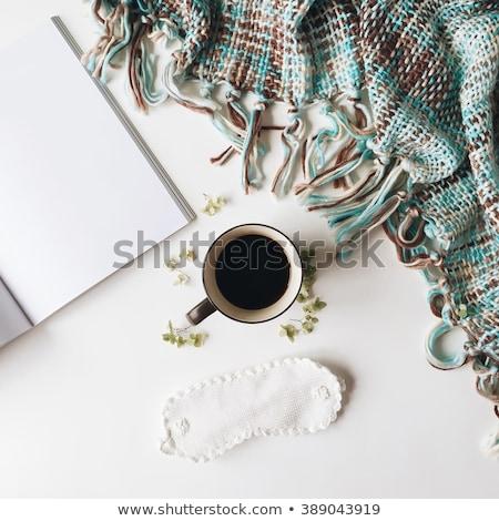雑誌 ベッド 画像 赤 ルーム ストックフォト © jrstock