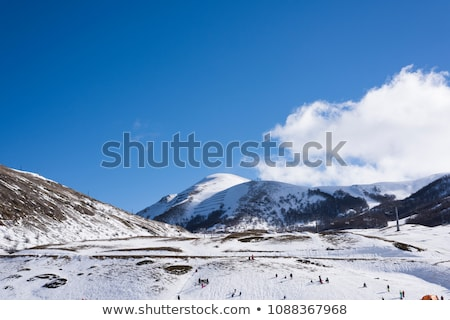 Campo Felice, Abruzzo mountain landscape in Italy Stock photo © vladacanon