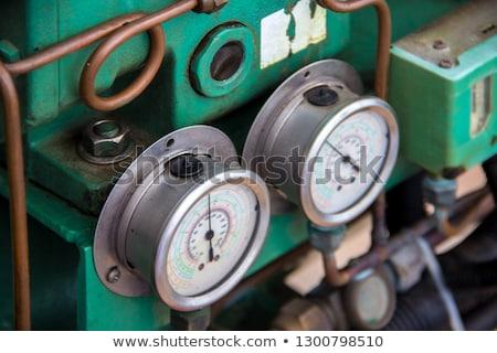 Old barometer Stock photo © Digifoodstock