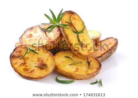Roasted potato halves Stock photo © Digifoodstock