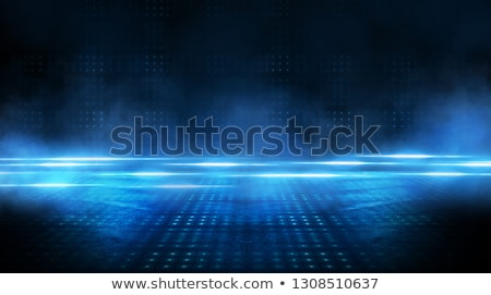 Abstract dark blue glow background. Stock photo © lenapix