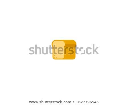 Diet bread emoticon Stock photo © georgemuresan