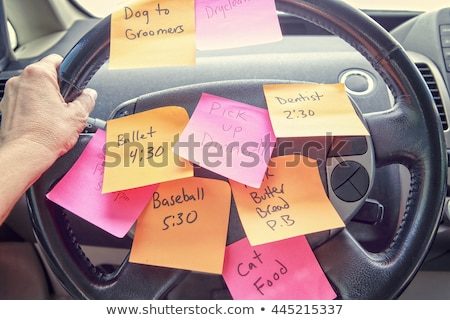 Overwhelmed Schedule Stock photo © Lightsource
