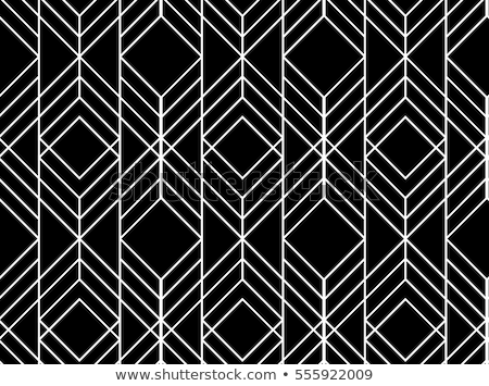 бесшовный треугольник современных роскошь шаблон черный Сток-фото © Galyna