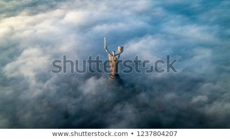Cityscape Ukraina architektury niebo wody domu Zdjęcia stock © joyr