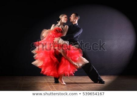 красивой танго танцовщицы фото красивая женщина Сток-фото © sumners