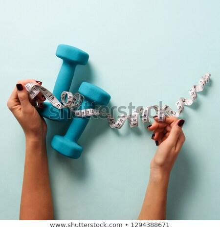 изображение красивой соответствовать женщины тело Сток-фото © deandrobot