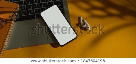 Berendezés vázlat számítógép laptop okostelefon tabletta Stock fotó © SArts