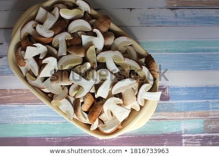 champignon · voedsel · kok · maaltijd · macro - stockfoto © digifoodstock