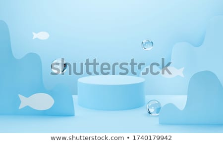 Ocean - 3D render Stock photo © Elenarts