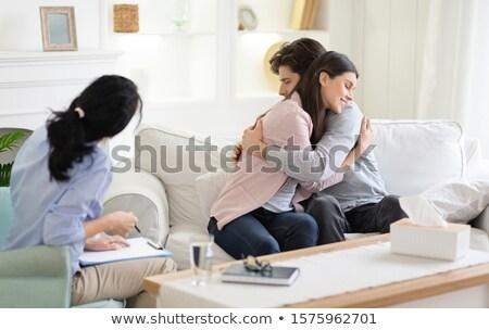 çift boş ofis iş kadın Stok fotoğraf © IS2