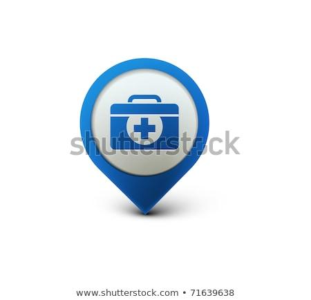 Enfermera 3D vector icono diseno Foto stock © rizwanali3d