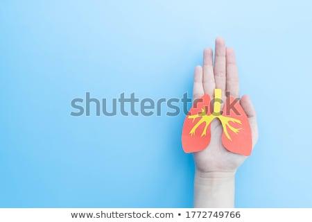 human chronic obstructive pulmonary disease stock photo © bluering
