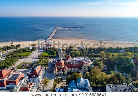 海景 ポーランド 海 海岸 白砂 バルト海 ストックフォト © neirfy