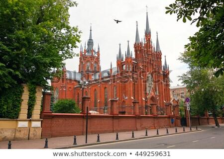 Esterno vergine cattedrale view di recente Foto d'archivio © yhelfman