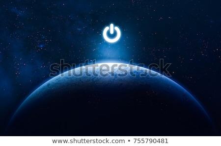 earth button stock photo © kraska