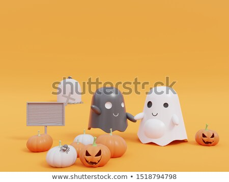 ghost 3d rendering stock photo © djmilic