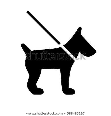 Riem icon vector lang schaduw web Stockfoto © smoki