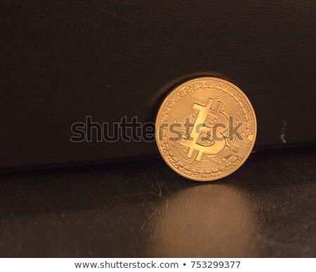 Wymiany skopiować monet logo rynku godło Zdjęcia stock © tashatuvango