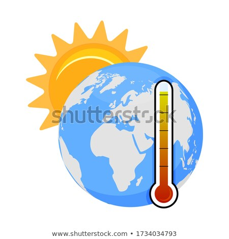Cataclysm High Degree, Hot Weather, Warming Vector Stock photo © robuart
