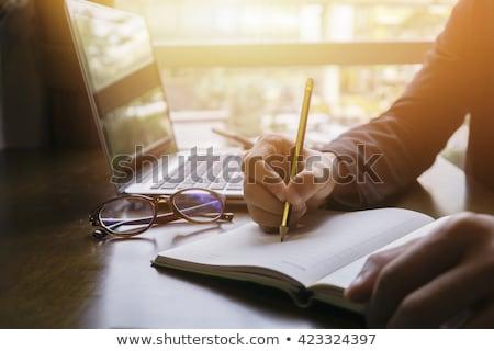 Designer browsing in the net Stock photo © pressmaster