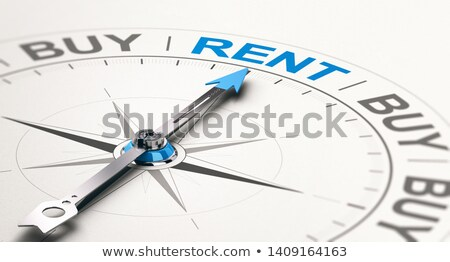 Credit Counselor Concept. Choosing Rental Versus Buying Goods. Stock photo © olivier_le_moal