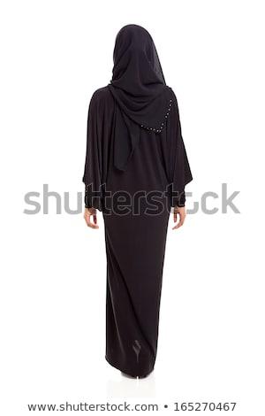 Fiatal lezser iszlám nő hidzsáb jelmez Stock fotó © pressmaster